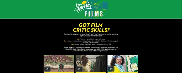 spritefilmsregal-com-regal-sprite-films-critic-sweepstakes