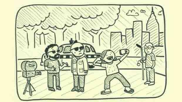 Taxi Driver (Illustration by Kent Osborne)